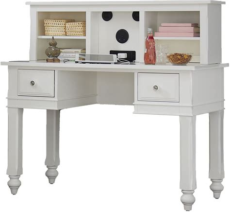 white writing desk with hutch lake house white writing desk with hutch 1540ndh ne kids