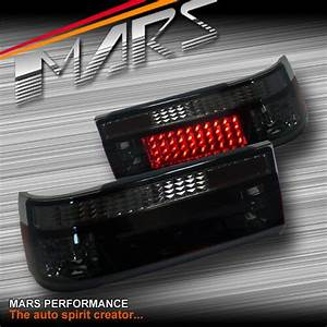Smoked Red Led Tail Lights For Toyota Corolla Ae86 Hatch