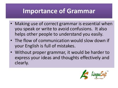 Is Grammar Important by Why Grammar Is Important In Ielts Writing