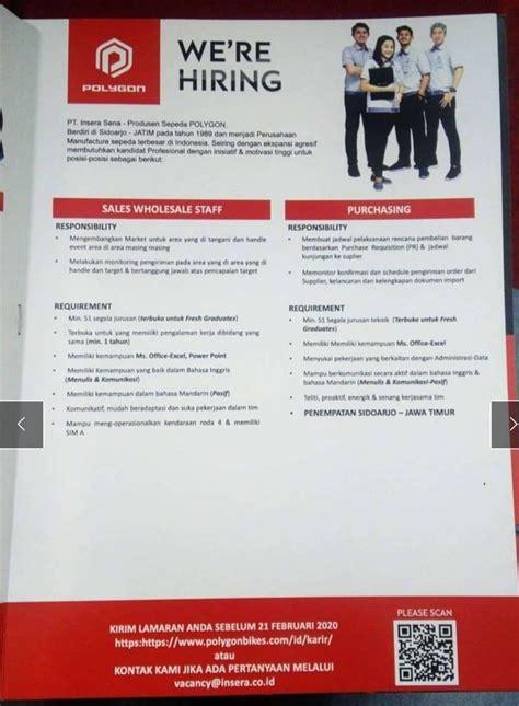Temukan info lowongan kerja / pekerjaan magang, mahasiswa, kerja sampingan terbaru yang bisa kamu apply sekarang, gratis! Lowongan Perhubungan Sidoarjo : Lowongan Kerja PT Sampoerna Juni 2014 Sidoarjo   Portal ...