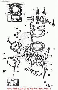 Suzuki Rm125 1993  P  Cylinder