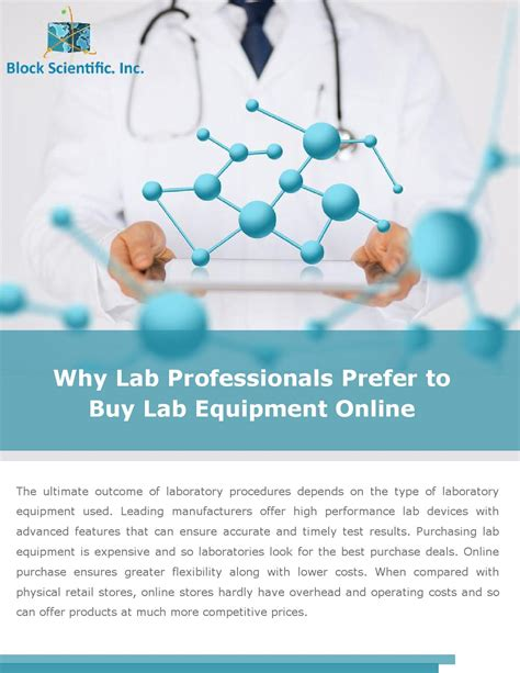 Why Lab Professionals Prefer To Buy Lab Equipment Online
