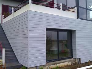 Bardage Exterieur Pvc : bardage d une maison individuelle syst menuiserie ~ Premium-room.com Idées de Décoration