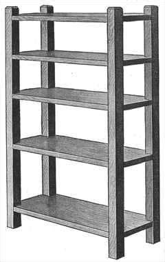 magazine rackbookshelf  woodworking plans bookcase plans bookshelf plans bookcase