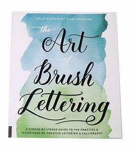 ben franklin crafts and frame shop With brush lettering book