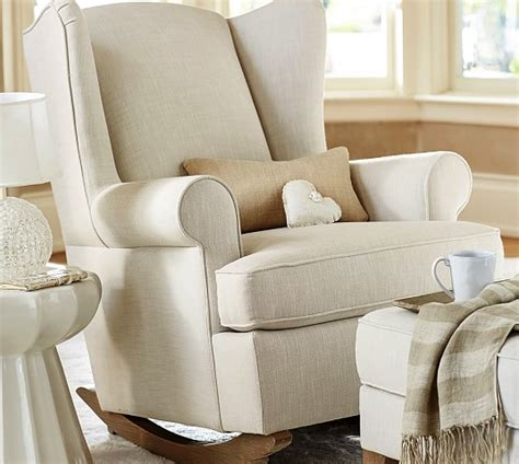 pottery barn glider rocking chair archives soled momma