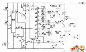 Industrial Oil Burner Controller Circuit Diagram