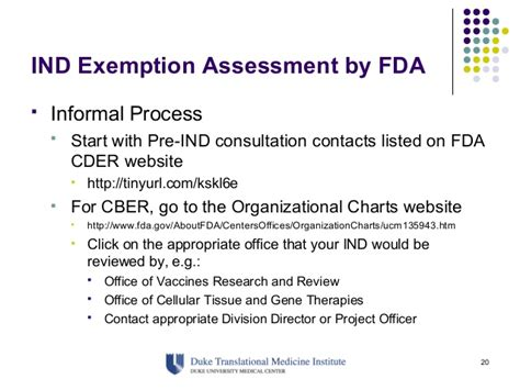 fda ind cover letter cftcc workshop ind exemption preparation and maintenance