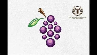 Grape Grapes Adobe Illustrator Tutorial