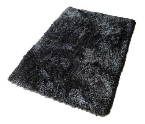 Black Fuzzy Rug by Black Indoor Outdoor Carpet Homesfeed