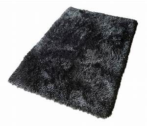 Black fuzzy rug rugs ideas for Black fluffy carpet
