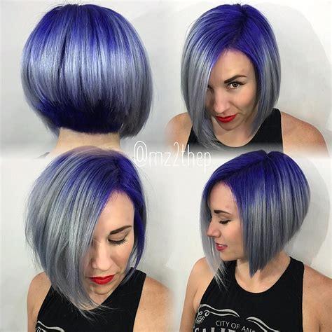 carre plongeant gris bleu violet 01 bob haircut blue