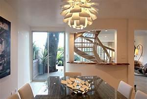 artichoke light fixture dining room contemporary with With dining room light fixture glass