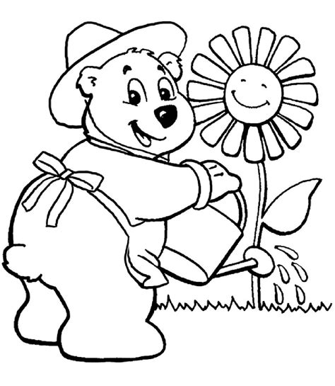 flower garden coloring pages for az coloring pages