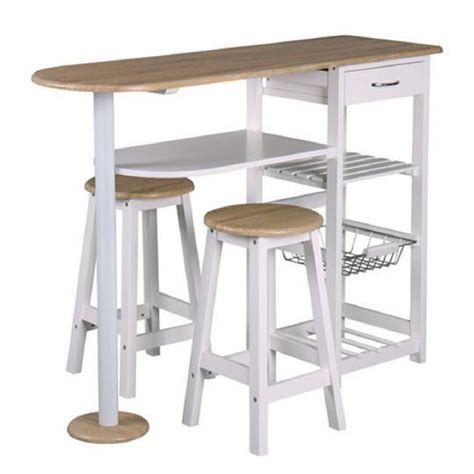 table de bar cuisine table bar et 2 tabourets top chef achat vente table de