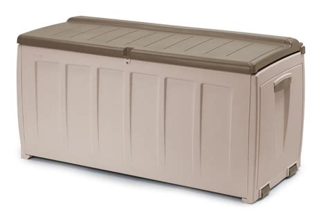 inexpensive garden shed with modern outdoor storage bins