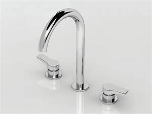 Robinet 3 Trous Lavabo : al 23 robinet pour lavabo 3 trous by aboutwater design ~ Edinachiropracticcenter.com Idées de Décoration