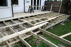 L shaped deck framing Deck design and Ideas