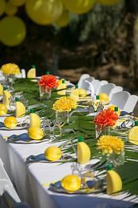 "Kara's Party Ideas ""Lemon the Good Life"" Birthday Party"
