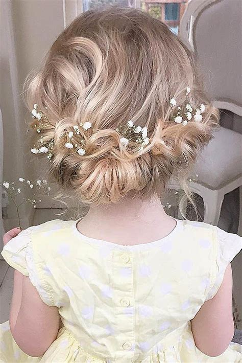 25 best ideas about kids wedding hairstyles on pinterest