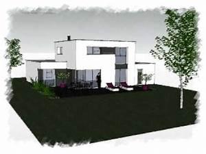 Maison Moderne Toit Plat : arteco 283 maison contemporaine toit plat loire ~ Nature-et-papiers.com Idées de Décoration
