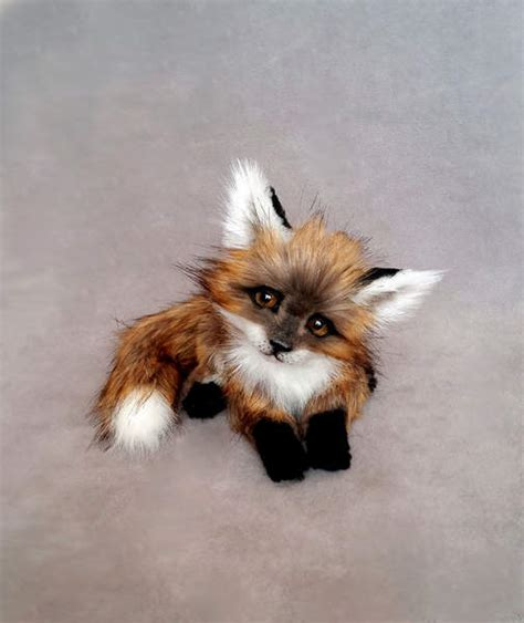 fox  vakulina bear pile