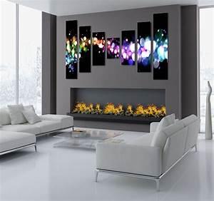Tableau Salon Design : tableau design stardust ~ Teatrodelosmanantiales.com Idées de Décoration