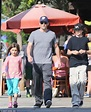 Daddy duty: James Marsden spends some quality time with ...
