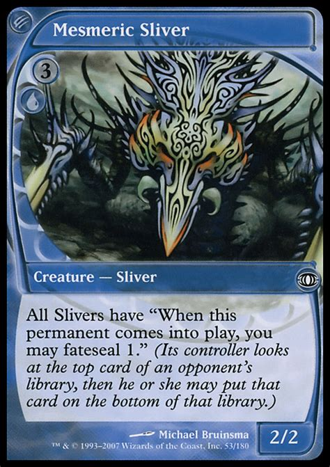 Sliver Deck Modern 2017 by Proxies For Deck Quot Time Spiral Chronozoa Sliver Deck