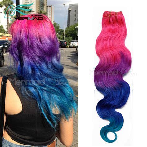 Mermaid Queen Hair Best 7a Ombre Brazilian Hair Body Wave