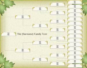 10 Best Images of Large Print Family Tree Form - Blank ...