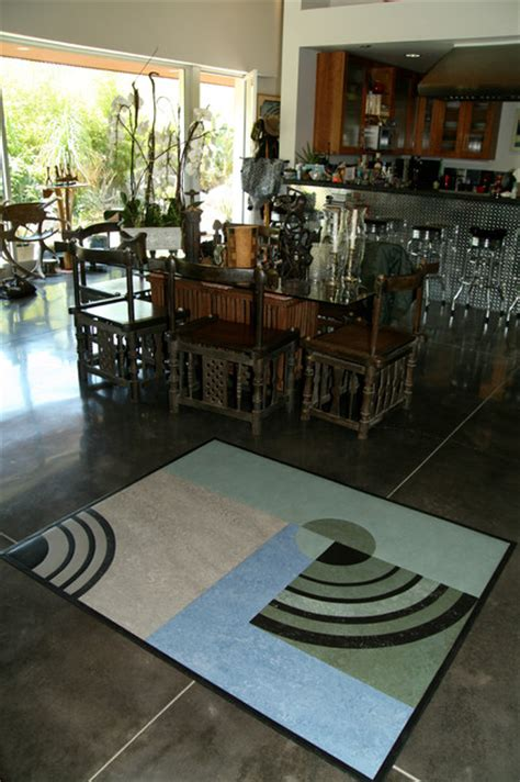 linoleum flooring los angeles linoleum rugs contemporary dining room los angeles by crogan inlay floors