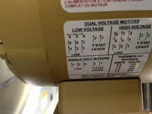 Motor 230  460v - Electrician Talk