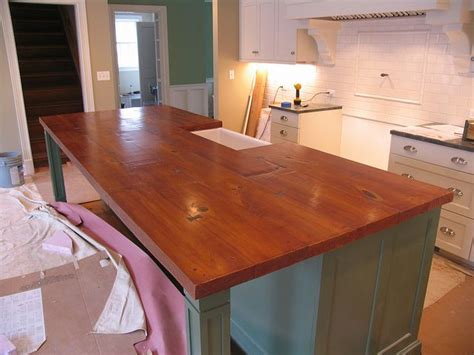 wood look countertops woodform concrete island a concrete countertop sted