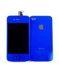 iphone kit iphone 4s conversion kit royal blue colors iphone 4s