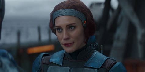 Mandalorian: Katee Sackhoff Teared Up First Time She Wore ...