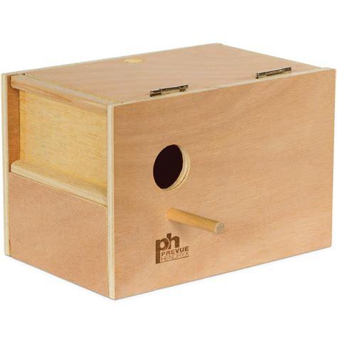 parakeet nest box 1105 prevue pet products