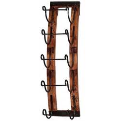 5 bottle hanging wine rack bed bath beyond