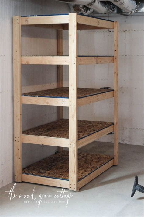 diy basement shelving canning basement shelving diy