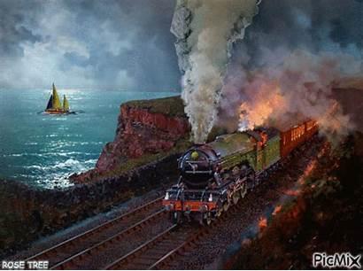 Train Steam Trains Picmix Locomotive Wind Boat