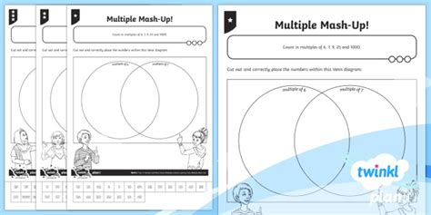 * New * Planit Maths Y4 Number And Place Value Multiple Mashup Home Learning