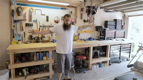 functional workspace garage overhaul part  youtube
