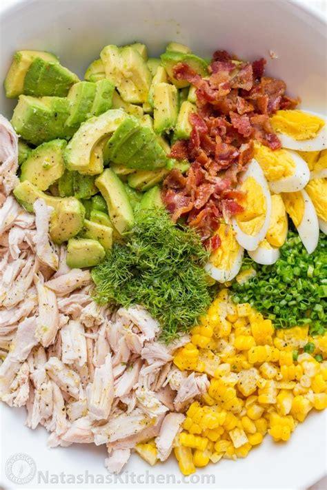 avocado chicken salad recipe video natashaskitchencom