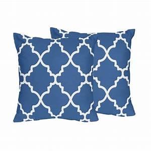 blue and white throw pillows xxx albums With blue and white accent pillows