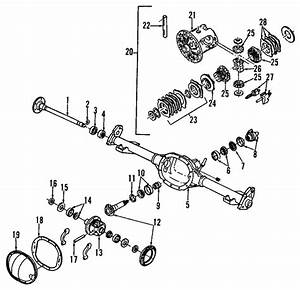 1998 2005 gm axle housing 26063509 gm outlet With 1998 chevy s10 ac diagram also 2005 chevy silverado front differential