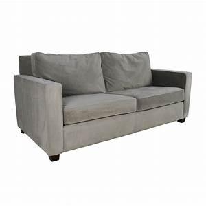 37 off west elm west elm henry microfiber sofa sofas for Henry sofa sectional west elm