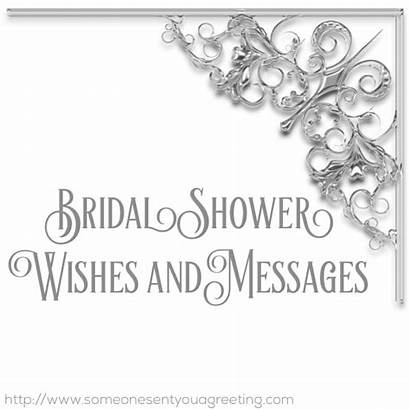 Shower Bridal Wishes Messages Card Examples Greeting