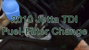 2010 Jetta Tdi - Fuel Filter Change How-to