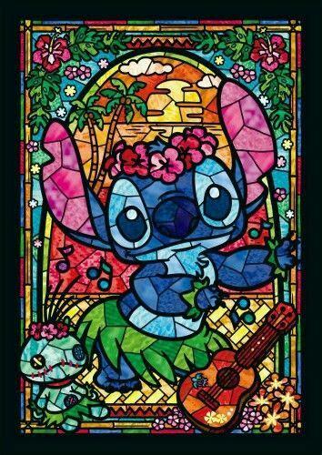 stitch vitral disney stained glass disney cross stitch
