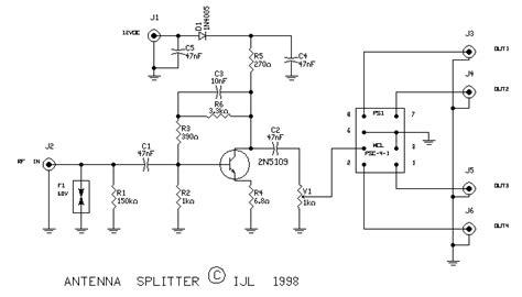 schematics rf amplifier pre selector